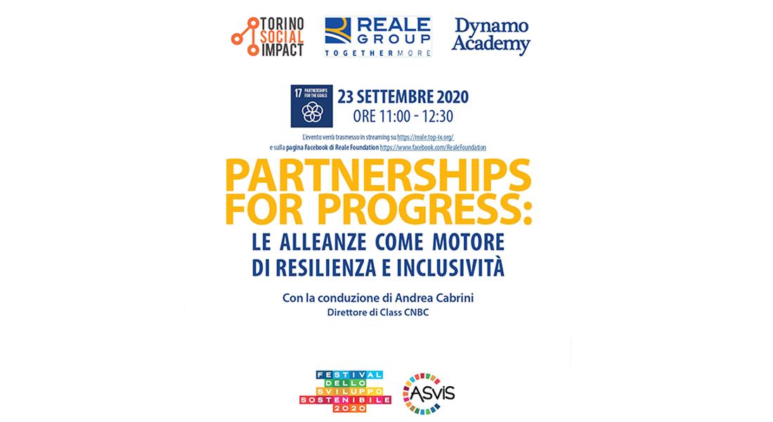 23/09 – Partnerships for Progress: le alleanze come motore di resilienza e inclusività