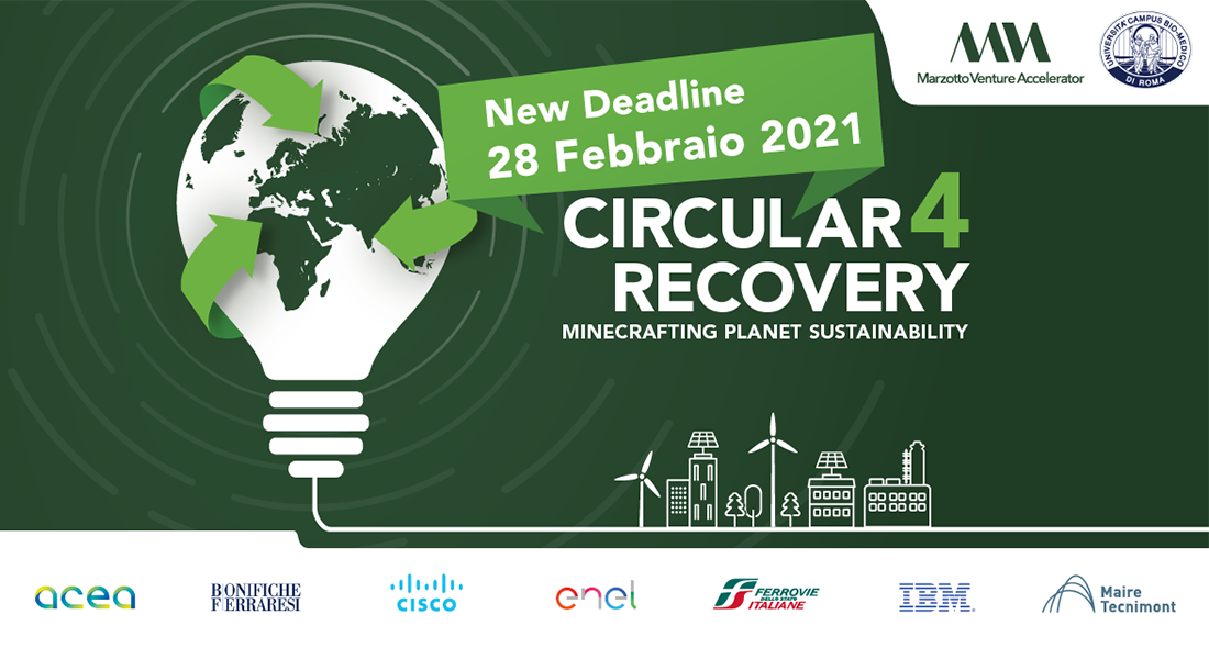 """Call for projects """"Circular 4 Recovery"""""""